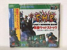 Sega MEGA CD FUNKY HORROR BAND F.H.B Japan JP Game z2098