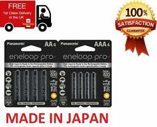4 x Panasonic eneloop pro AAA 950 mAh Rechargeable Batteries RTU NiMH HR03 Phone