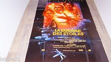 STAR WARS la guerre des etoiles !  g lucas affiche cinema science fiction