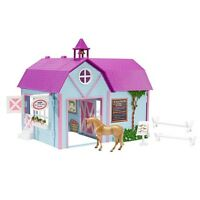 Breyer Horse Crazy Stable / Barn Set - Stablemates Model - #73760