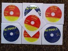 7 CDG DISCS OLDIES ROCK KARAOKE CD+G CD MUSIC - BEATLES,CHER,JOURNEY GENESIS 16a