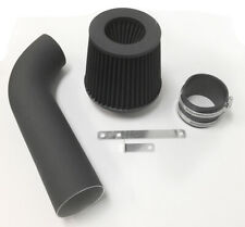 Coated Black For 1989-1994 Chevy Geo Tracker 1.6L L4 Air Intake Kit + Filter