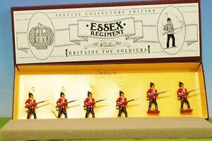 VINTAGE BRITAINS SET #8801 - ESSEX REGIMENT LEAD TOY SOLDIERS - MIB 🔥