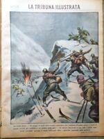 La Tribuna Illustrata 9 Marzo 1941 WW2 Guerra Mare Ghetto Varsavia Domenichino