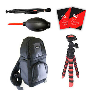 Tripod Backpack and More for Sony Alpha A6000 A6500 A5000 and All Sony Cameras