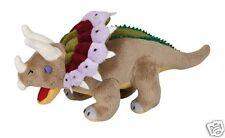Ravensden Dinosaur Triceratops Realistic Plush Soft Toy 30cm FR055TI