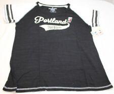 NBA Portland Trail Blazers Women's Curvy Multicount Short Sleeve Shirt Size 1X