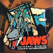 JAWS Adventure 2rd Anniversary Pins UNIVERSAL STUDIOS JAPAN 2002