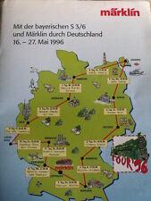 Depliant Novità Marklin 1996 TOUR 1996 - DEU - Tr.3
