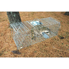 "Pet Trex Zinc Live Animal Trap Racoon Skunk Cat Traps Almost 37 ""Long NEW"