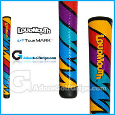 TourMARK Loudmouth Captain Thunderbolt Grips - Blue / Red / Yellow / Purple  x 1