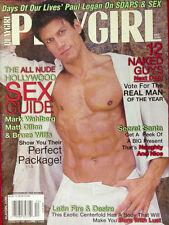 PLAYGIRL December 2001 MARK WAHLBERG Days of Our Lives PAUL HOGAN Bruce Willis