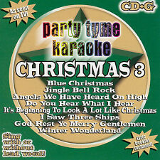 Party Tyme Karaoke - Christmas 3 8+8-song CD+G