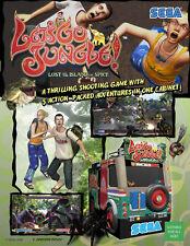 2006 SEGA LET'S GO JUNGLE! VIDEO FLYER MINT