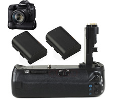 Camera Battery Grip Hand For Canon EOS 70D As BG-E14 Pack +2X Power Battery