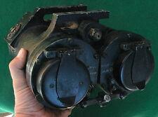 Vintage WW2 U.S. Navy Bausch & Lomb Submarine Binoculars, 36 Pounders!