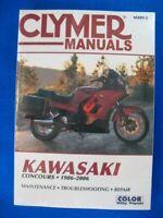 Clymer Kawasaki 1986-2006 GTR1000 Concours Service Manual Brand New