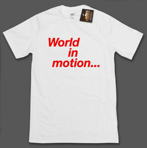 World In Motion 1990 football world cup mens t-shirt New Order unofficial