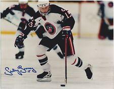 Shelley Looney Signed USA Womens Hockey 8x10 Photo 1998 Gold Meadalist
