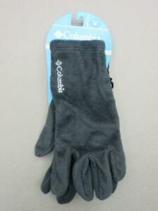 NWT COLUMBIA SIZE M MENS BLACK THERMAL GLOVES 3R