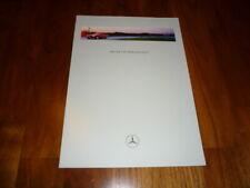 Mercedes SLK Prospekt 08/1996