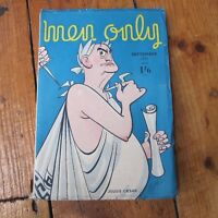 Men Only Magazine Vintage Articles Pin Up Retro Men's September 1951 Free UK P+P
