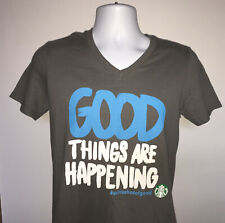 Starbucks Good Things are Happening #extrashotofgood t shirt Community Service