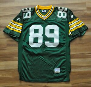 MARK CHMURA GREEN BAY PACKERS GREEN STARTER AUTHENTIC JERSEY PRO SEWN 46 LARGE