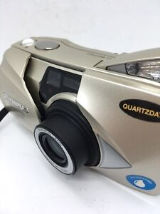 Olympus Stylus Epic 115 35mm QD Point & Shoot Film Camera TESTED