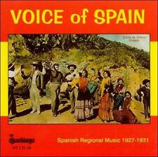 Voice of Spain: Spanish Regional Music 1927-1931 by Various Artists (CD,...