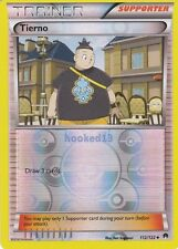 Tierno TRAINER Uncommon Reverse Holo BreakPoint Pokemon Card 112/122