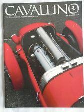 Ferrari Cavallino Magazine, Issue # 19, 250 275 330 365 512 246 DINO