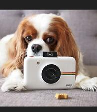 Polaroid Snap digital instant camera (white) printer built-i NEW!