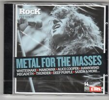 (GQ349) Metal For The Masses, 14 tracks - 2006 - Sealed Classic Rock CD