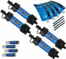 Sawyer Products SP123 Mini Water Filtration System 4-pack Blue