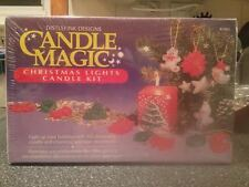 CANDLE MAGIC CHRISTMAS LIGHTS Holiday CANDLE Making KIT Brand New Sealed Rare