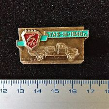 """USSR Pin Truck Russia """"Gaz-51"""" 1946. Vintage Badge Camion Russe"""