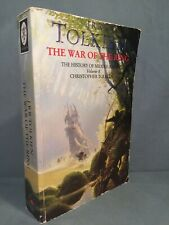 Jrr Tolkien - The War of the Ring - 1992 Uk First Edition, 1st Print, 2nd State
