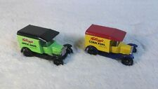 Vtg Matchbox Lot of 2 Kellogg's Cereal Collectible 1921 Model T Ford Truck