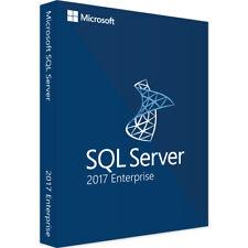 Microsoft SQL Server 2017 Enterprise 🔥 Activation Key 🔑 | Unlimited Cores