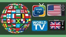Sensation World iptv 24 hours for Europe US UK  CA  Latino + & Video + & m3u+APK