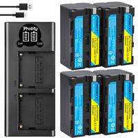 NP-F750 F770 Battery or Charger for Sony CCD-TRV215 TR917 TR315 HDR-FX7 FX1000