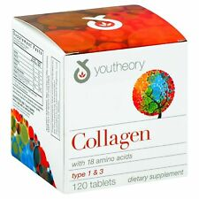 Youtheory Collagen - Type 1 and 3 - 120 Tablets