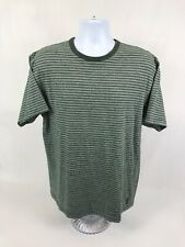 Men's Abercrombie & Fitch Short Sleeve Striped T-Shirt Size Large