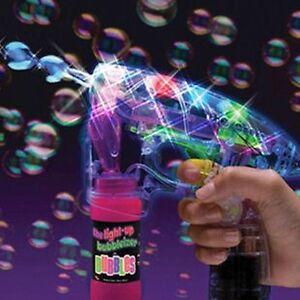 48 X Pcs Bubble Gun Shooter led Lights with free bubble solution 3+ WHOLESLAE