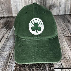 Boston Celtics 2010-2011 Adidas Hat Cap NBA Basketball Green Adjustable Strap OS