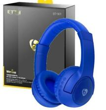 Ovleng Blue BT-801 Wireless Bluetooth V4.2 Headphones & Speakers 2 in 1 Red Blue