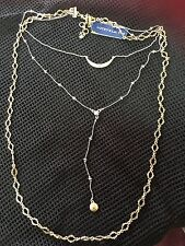Lucky Brand Gold Tone and Sliver Bead Necklace $ 49