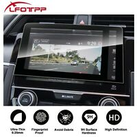 LFOTPP Car Navigation Screen Protector Tempered Glass Film For 2018 Honda Civic