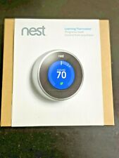 Nest 2nd generation thermostat silver Model T200577